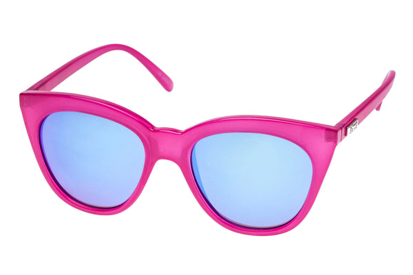 Le Specs Halfmoon Magic Pink Sunglasses