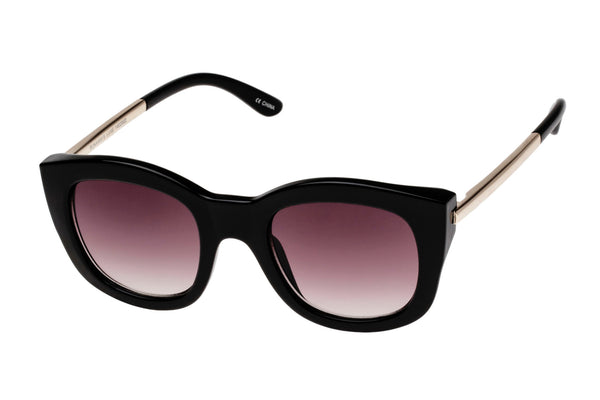 Le Specs Runaways Luxe Black Sunglasses