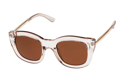 Le Specs Runaways Luxe Sand Sunglasses