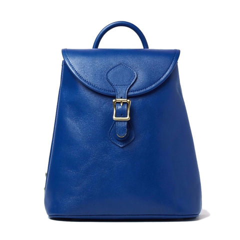 J.W. Hulme - Legacy Blue Leather Backpack