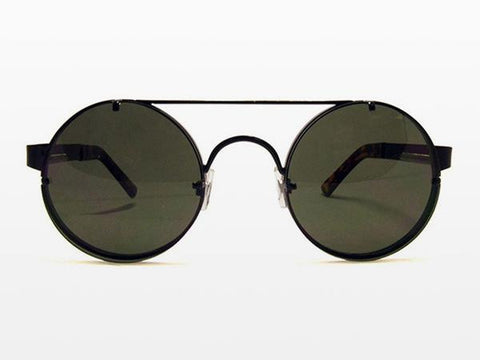Spitfire - Lennon 2 Black Sunglasses, Black Lenses