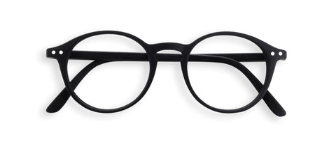 Izipizi - #D Black Reader Eyeglasses / +2.00 Lenses
