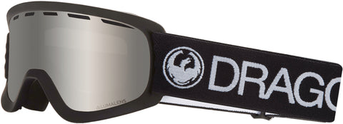 Dragon - Lil D Black Snow Goggles / Silver Ion Lenses