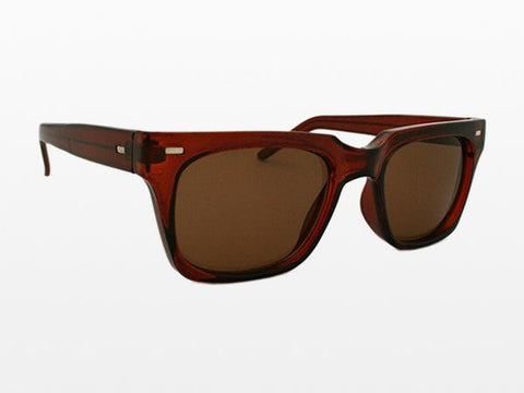 Spitfire - Lovejoy Brown Sunglasses, Black Lenses