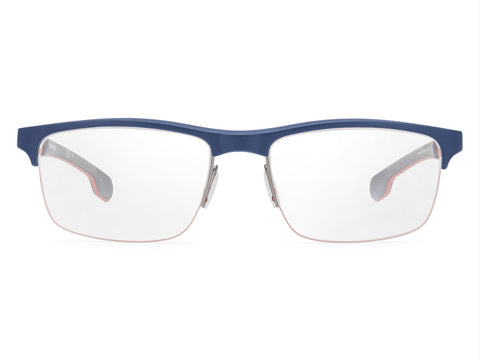 Carrera - 4404 Matte Blue Sunglasses / Demo Lenses