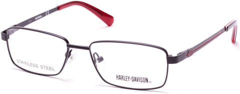Harley-Davidson - HD0134T Matte Black Eyeglasses / Demo Lenses