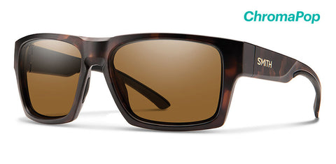 Smith - Outlier 2 XL Matte Tortoise Sunglasses / ChromaPop Polarized Brown Lenses