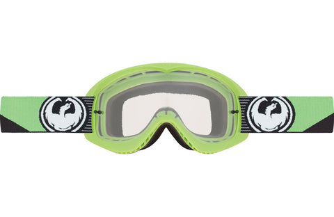 Dragon - MDX Splice Green MX Goggles / Clear Lenses