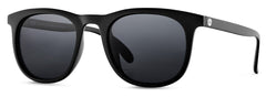 Sunski - Seacliffs Black Sunglasses / Slate Polarized Lenses