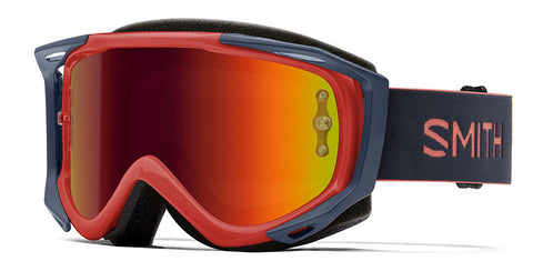 Smith - Fuel V2 Red Rock MX Goggles / Red Mirror Lenses