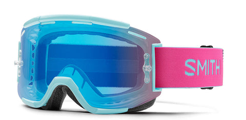 Smith - Squad MTB Iceberg Peony MX Goggles / Chromapop Contrast Rose Flash Lenses