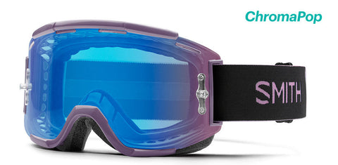 Smith - Squad MTB Mauve MX Goggles / Chromapop Contrast Rose Flash Lenses