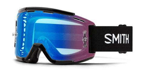Smith - Squad MTB Black MX Goggles / Chromapop Contrast Rose Flash Lenses
