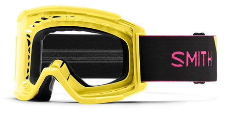 Smith - Squad XL MTB Citron Black MX Goggles / Clear Anti Fog Lenses