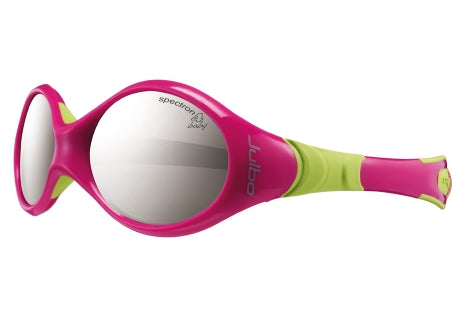 Julbo - LOOPING 1 Fuchsia Lime Green Sunglasses / Spectron 4 Baby Lenses