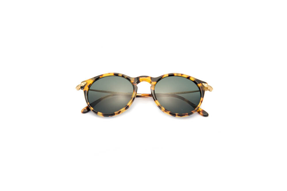 Kyme - Mark Yellow Tortoise Sunglasses