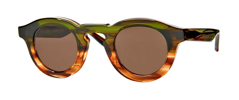 Thierry Lasry - Maskoffy 42mm Green Yellow Gradient Sunglasses / Brown Lenses