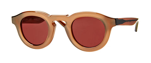 Thierry Lasry - Maskoffy 42mm Brown Sunglasses / Burgundy Lenses