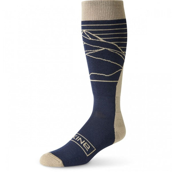 Dakine - Men's Summit S-M Night Sky Stone Socks