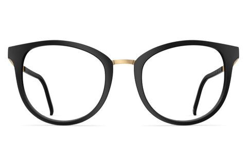 Neubau - Mia Black Coal Matte / Gold Rx Glasses