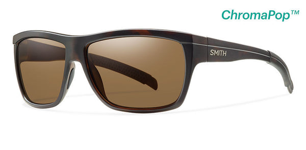 Smith - Mastermind Matte Tortoise Sunglasses, Chromapop Polarized Brown Lenses