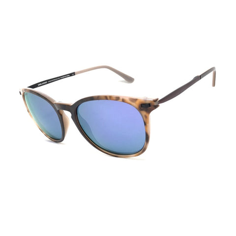 Peppers - Nolita Bengal Tortoise Sunglasses / Brown Polarized Diamond Lilac Mirror Lenses