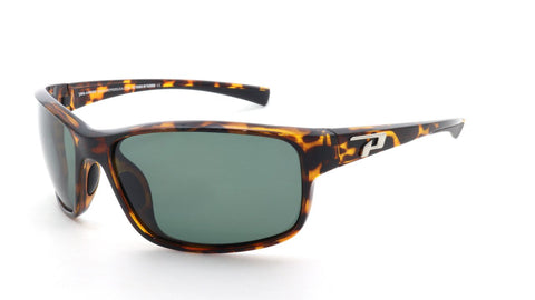 Peppers - Boardstiff Shiny Tortoise Sunglasses / G15 Polarized Lenses