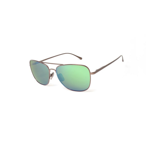 Peppers - Airborne Bronze  Sunglasses / Brown Polarized Green Mirror Lenses