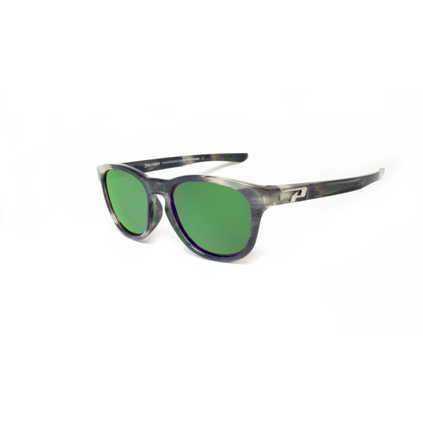 0535625ad2 Peppers - Five Degrees Green Tortoise Sunglasses   Diamond Emerald Mirror Polarized  Lenses