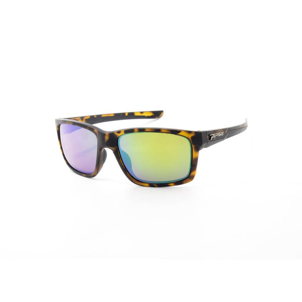 Peppers - Voodoo Tortoise Shell Sunglasses / Green Mirror Polarized Lenses