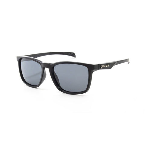 Peppers - Voodoo Black Sunglasses / Smoke Polarized Lenses