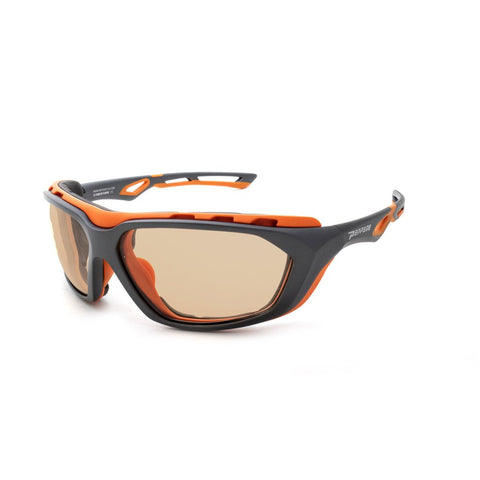 Peppers - Freebird Matte Black Sunglasses / Photochromic Orange Smoke Lenses
