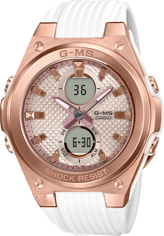 G-Shock - MSGC100G-7A White Rose Gold Watch