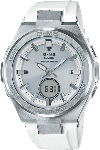 Baby-G - MSGS200-7A White Silver Watch