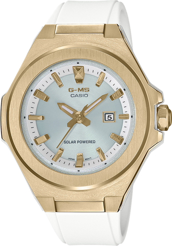 G-Shock - MSGS500G-7A Gold White Watch