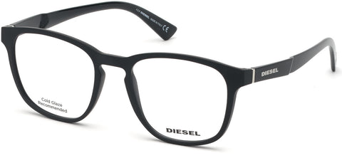 Diesel - DL5334 Matte Black Eyeglasses / Demo Lenses