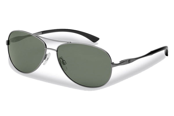 Flying Fisherman - Madeira 7764 Antique Gunmetal Sunglasses, Smoke Lenses