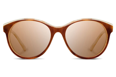 Shwood - Madison Acetate Salted Caramel / Brown Sunglasses