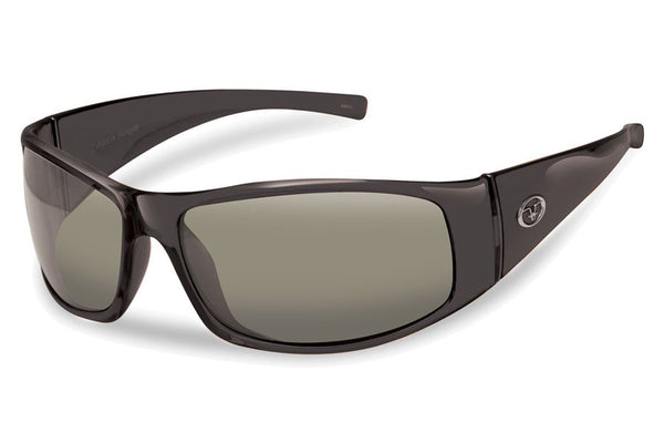 Flying Fisherman - Magnum 7352 Black Sunglasses, Smoke Lenses