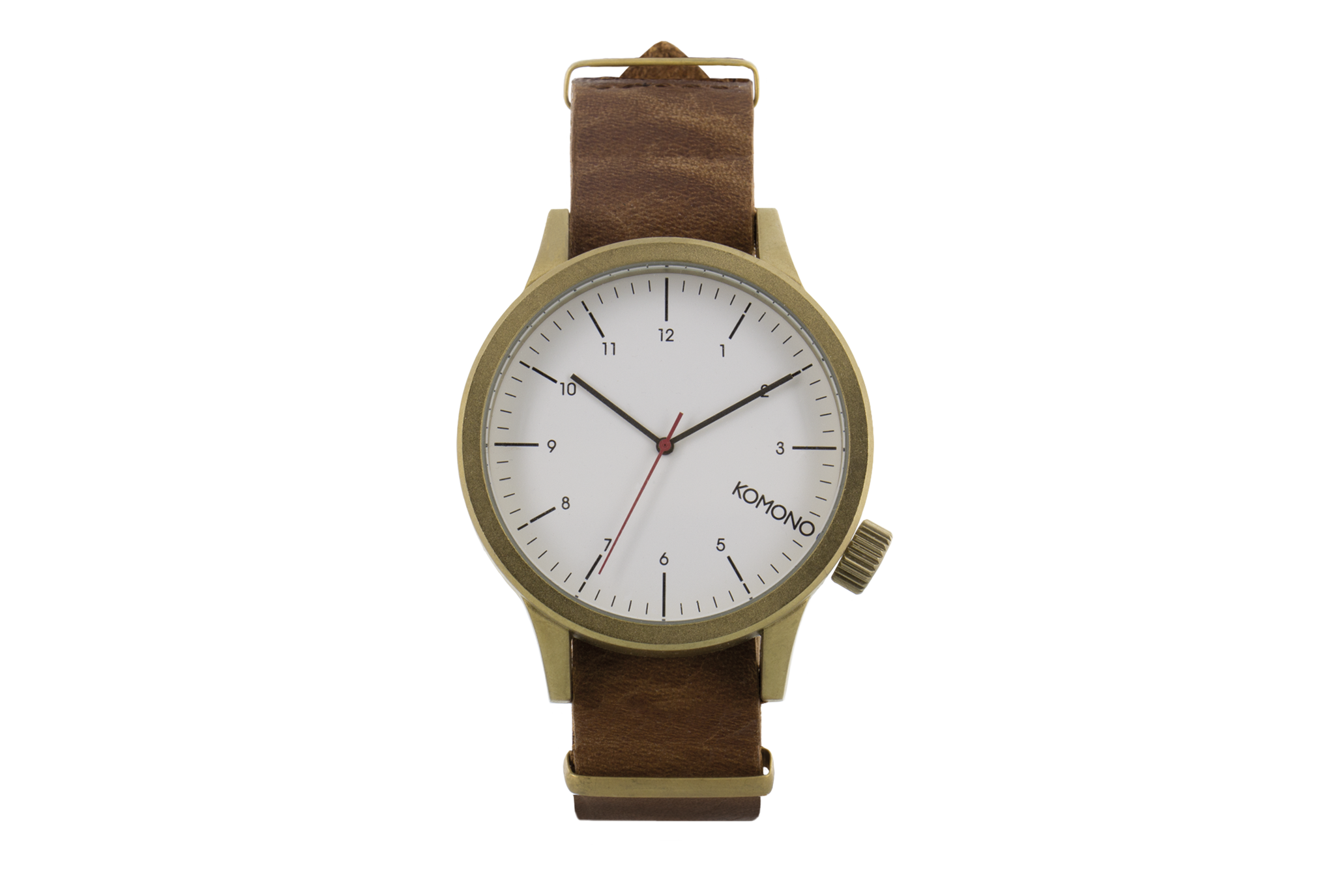 Komono - Magnus Saddle Brown Watch
