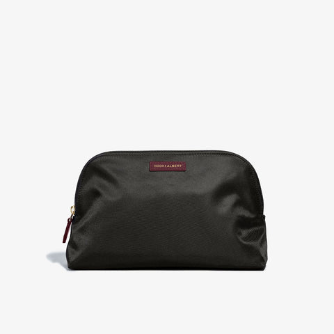 Hook & Albert - Women's Fabric Bordeaux Toiletry Bag