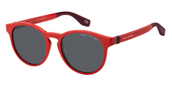 Marc Jacobs - Marc 351 S Red Sunglasses / Gray Blue Lenses