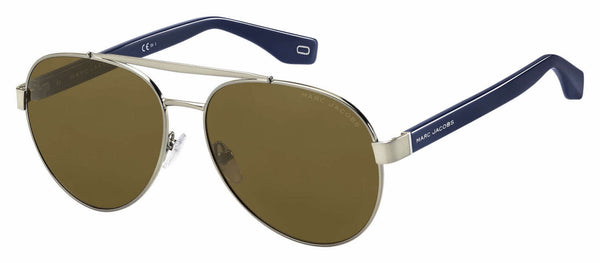 Marc Jacobs - Marc 341 S Blue Sunglasses / Brown Lenses