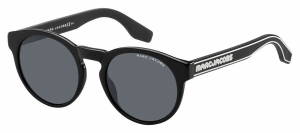 Marc Jacobs - Marc 358 S Black Sunglasses / Gray Blue Lenses