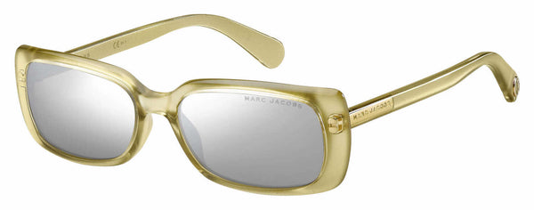 Marc Jacobs - Marc 361 S Gold Sunglasses / Silver Mirror Lenses