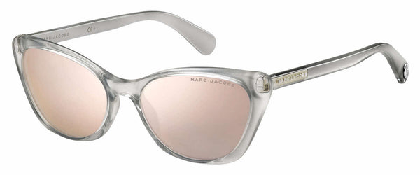 Marc Jacobs - Marc 362 S Silver Sunglasses / Gray Rose Gold Lenses