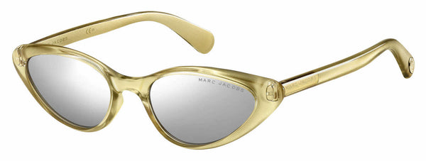 Marc Jacobs - Marc 363 S Gold Sunglasses / Silver Mirror Lenses