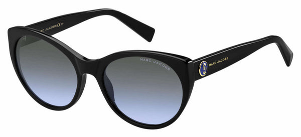 Marc Jacobs - Marc 376 S Black Sunglasses / Gray Azure Lenses