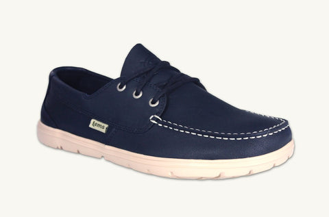 Lems - Men's Mariner Navy Boat Shoes