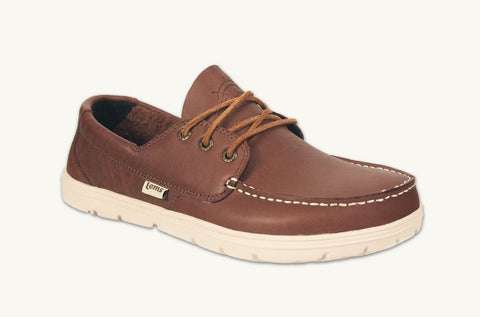 Lems - Men's Mariner Walnut Boat Shoes